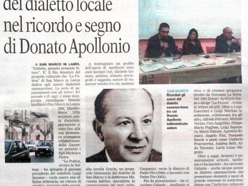 Michele Galante e Marianna Iafelice sulla figura di Apollonio