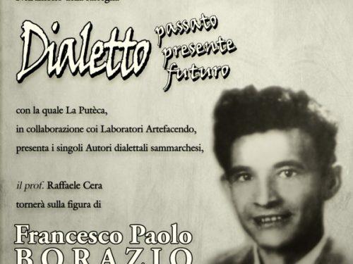 Dialetto passato presente futuro: Francesco Paolo Borazio