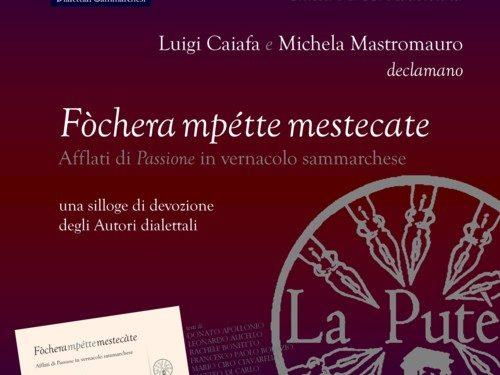 Le due presentazioni del volume Fòchera mpette mestecate
