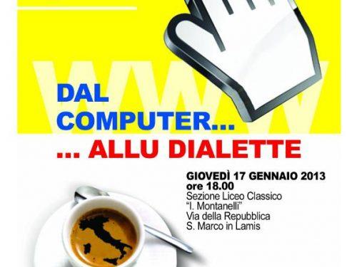 L'Istituto Giannone passa 'dal computer… allu dialette'