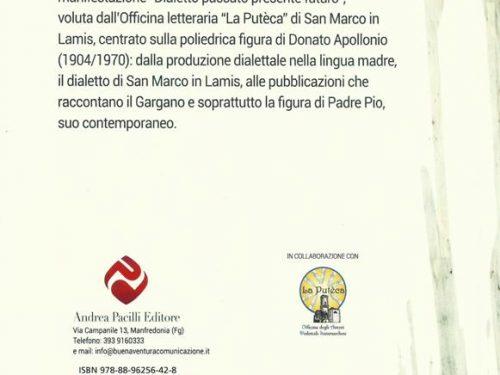 'Donato Apollonio tra poesia e Padre Pio'. Edito il volume