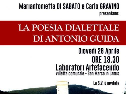 Incontro sulla poesia dialettale e la figura di Antonio Guida